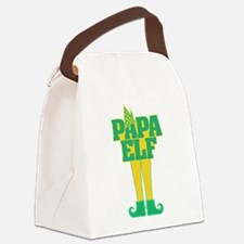Papa Elf Canvas Lunch Bag