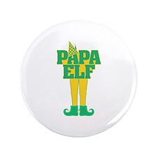 "Papa Elf 3.5"" Button (100 pack)"