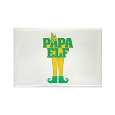 Papa Elf Rectangle Magnet (10 pack)
