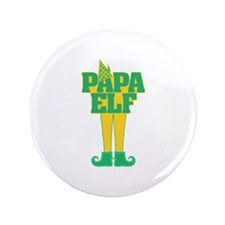 """Papa Elf 3.5"""" Button"""