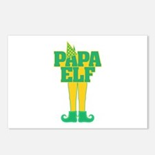 Papa Elf Postcards (Package of 8)