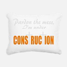 Christian under construc Rectangular Canvas Pillow