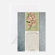 Burpees Farm Annual 1909 Greeting Card