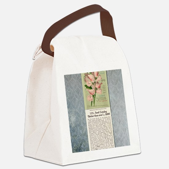 Burpees Farm Annual 1909 Canvas Lunch Bag
