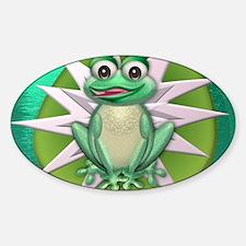 Princess frog Decal