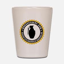Mursecenary.com Logo Shot Glass