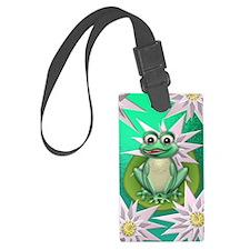 Princess frog Luggage Tag