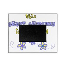 This great Grandma Blue flowers Picture Frame