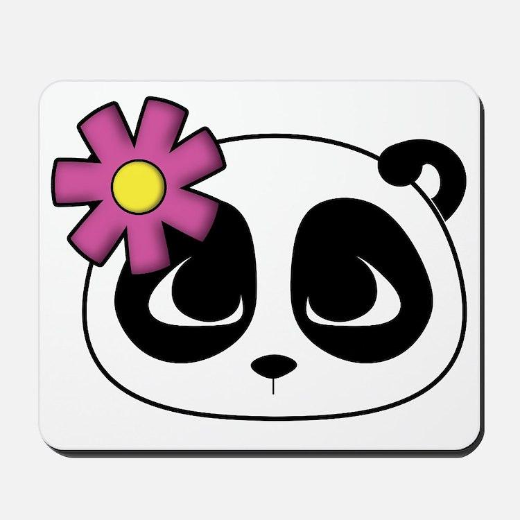 pretty_panda_reverse Mousepad