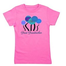 Great Grandmother blue trees Girl's Tee