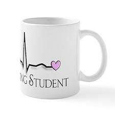 Nursing Student QRS pink Mug