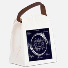 ouroboros-and-solomons-seal Canvas Lunch Bag