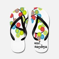 Great Grandma Flip Flops
