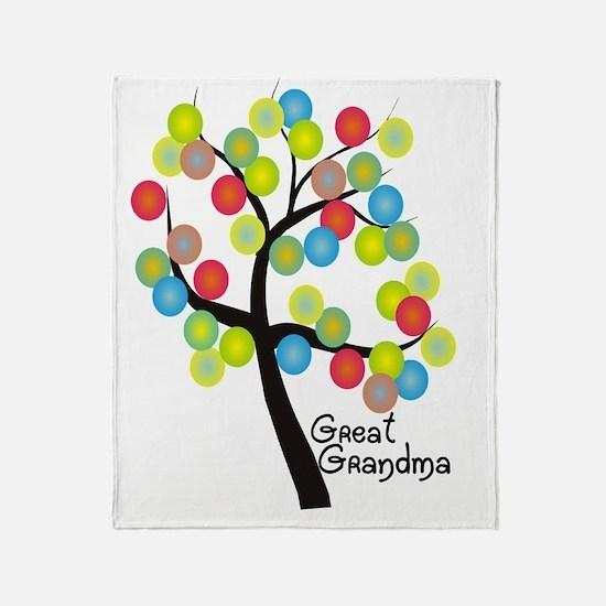 Great Grandma Throw Blanket
