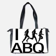 I Run ABQ Diaper Bag