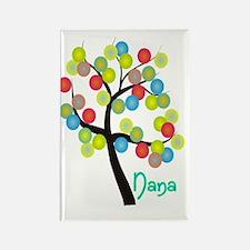 Nana Tree Bubbles Rectangle Magnet