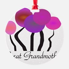 Great Grandmother pink trees Ornament