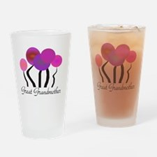 Great Grandmother pink trees Drinking Glass