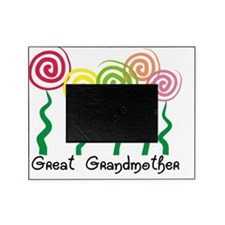Great Grandmother ARtsy Flowers Picture Frame