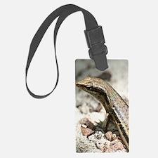 BrownGeckoiPhone Luggage Tag