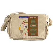 Friendly stranger-TY. Messenger Bag