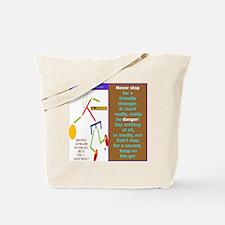 Friendly stranger-TY. Tote Bag