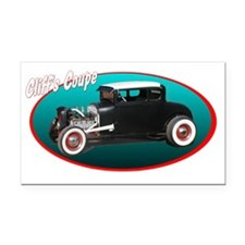 cliffcoup Rectangle Car Magnet