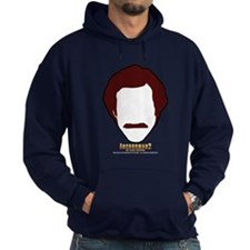 Anchorman Hair Hoodie (Dark)