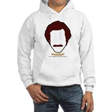 Anchorman Hair Jumper Hoody
