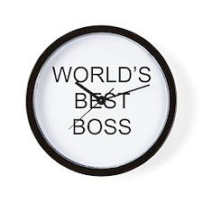 Best Boss Wall Clock