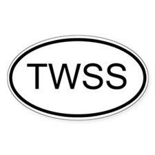 TWSS Oval Decal