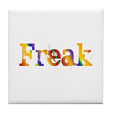 Rainbow Freak Tile Coaster
