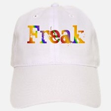 Rainbow Freak Baseball Baseball Cap