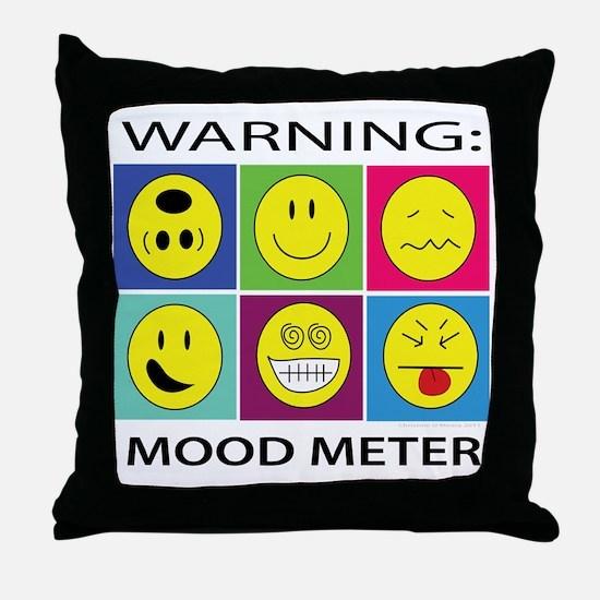 mood meter2 Throw Pillow
