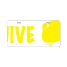jiveturkey Aluminum License Plate