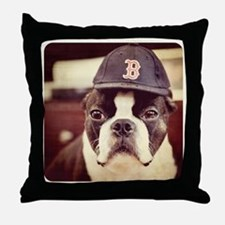 Boston Fan Throw Pillow