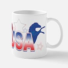 USAhorsesstar-center-stars copy Mug
