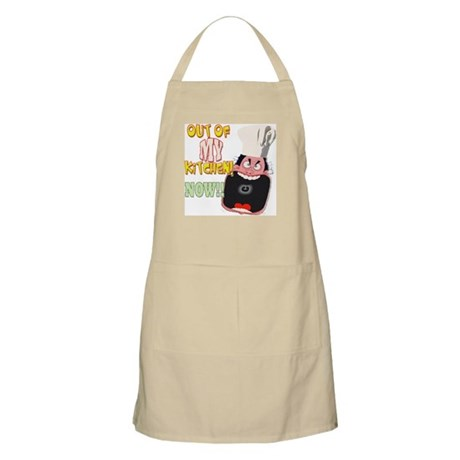 Out Of My Kitchen! BBQ Apron