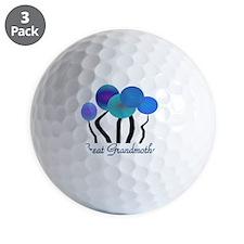 Great Grandmother blue trees Golf Ball