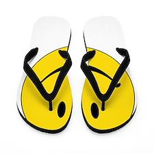 HAVEanicedaywhite Flip Flops