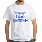 THIRD GRADE White T-Shirt