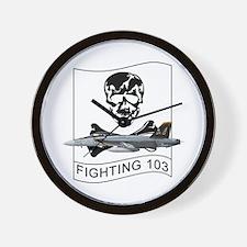 VFA-103 Jolly Rogers Wall Clock