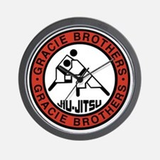 gracie bros Wall Clock
