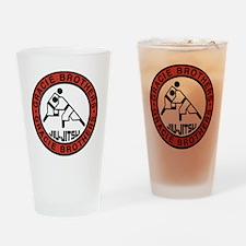 gracie bros Drinking Glass
