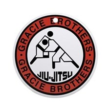 gracie bros Round Ornament