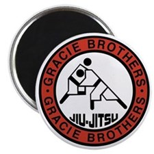 gracie bros Magnet