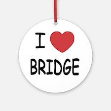 BRIDGE Round Ornament