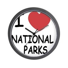 NATIONAL_PARKS Wall Clock