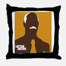 layton nation Throw Pillow