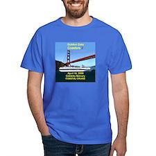 Celebrity - Mercury - Golden Gate Coaster's - T-Shirt